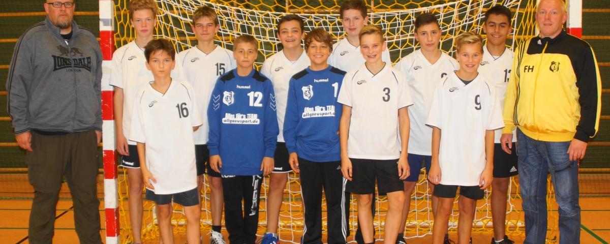 TSV Mindelheim Handball Männliche C-Jugend 2015/16
