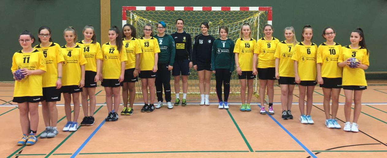 TSV Mindelheim Handball Weibliche C-Jugend 2017/18
